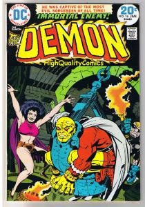 DEMON #16, VF, Jack Kirby, 4th World, Etrigan, 1972, more JK in store