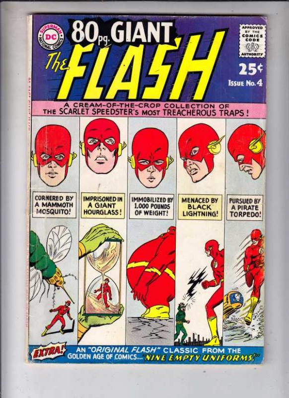 Eighty Page Giant #4 (Oct-64) VG+ Affordable-Grade The Flash