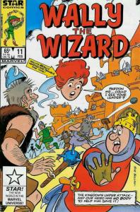 Wally the Wizard #11 FN; Marvel Star | save on shipping - details inside