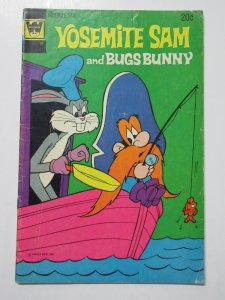 Yosemite Sam and Bugs Bunny (Whitman 1973) #17 VG