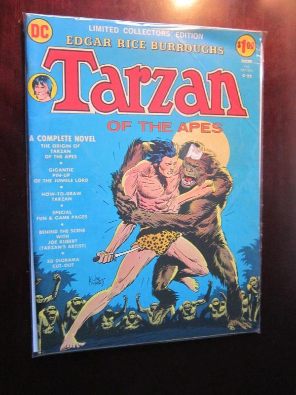 DC Treasury Edition #C-22 - Tarzan Of The Apes - 6.0 - 1973