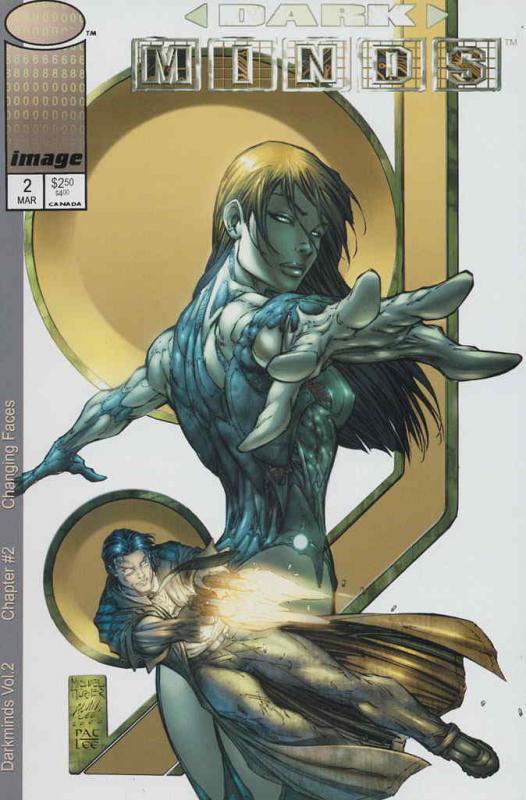 Darkminds (Vol. 2) #2 FN; Image | save on shipping - details inside