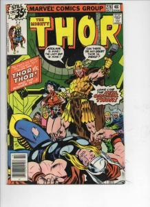 THOR #276 FN God of Thunder Odin Asgard Buscema 1966 1978, more Thor in store