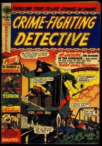CRIME-FIGHTING DETECTIVE #14-1951-SAWED OFF SHOTGUN -fine minus FN-