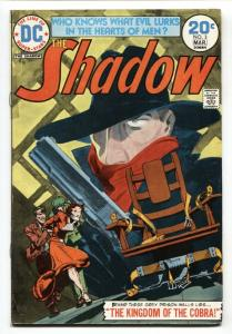 SHADOW #3 comic book 1974-DC-Electric Chair cover