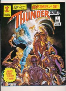 JC Comics Thunder Agents #1 Features Neal Adams, Jack Kirby FN (HX935)