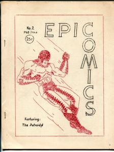 Epic Comics #2 1965-Bartel-original super hero comic-comic info1954 Atlas-FN-