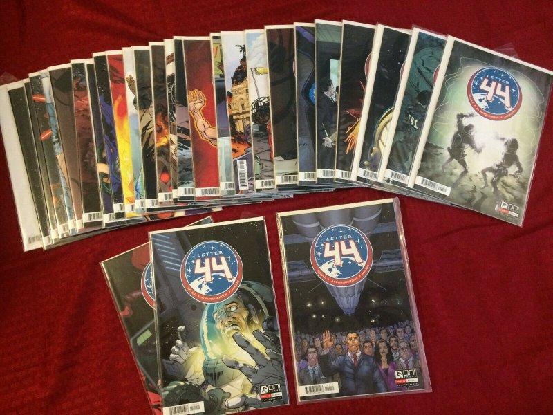 Letter 44 Lot of NM Comics Pristine Condition Oni Press Run of Comics