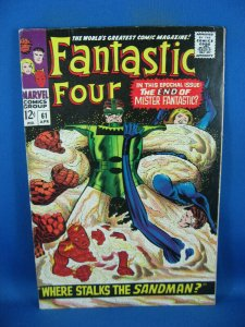 FANTASTIC FOUR 61 VF- SILVER SURFER  1967