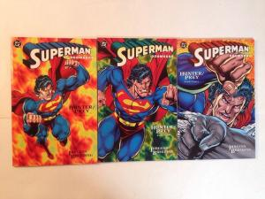Superman Doomsday Hunter Prey 1 2 3 1-3 Complete series Near Mint NM lot set run