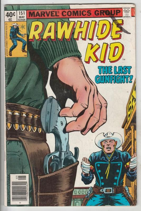 Rawhide Kid #151 (May-71) FN Mid-Grade Rawhide Kid