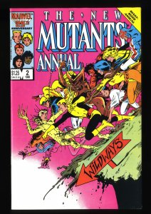 New Mutants Annual #2 VF+ 8.5 1st Psylocke!
