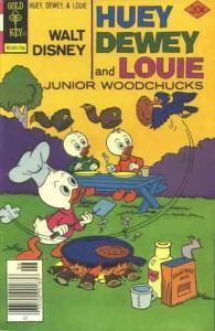 Huey, Dewey, and Louie Junior Woodchucks #44 FN; Gold Key | save on shipping - d