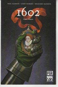 Marvel Knights' 1602 # 3 Marvel Dark Age by Sandman's Neil Gaiman