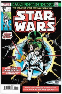 Star Wars #1 Facsimile Edition | Reprints 1977 Issue (Marvel, 2020) NM