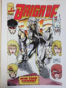 Brigade #1 (Image 1992) Signed by Norm Rapmund 1st Published Work