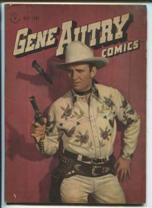 Gene Autry #7 1947-Dell-photo covers-Jesse Marsh art-FN
