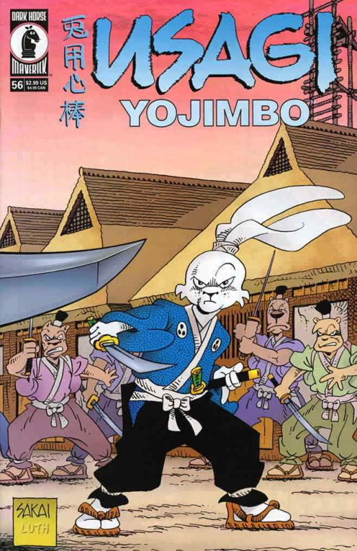 Usagi Yojimbo (Vol. 3) #56 FN; Dark Horse | save on shipping - details inside
