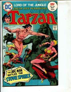 Tarzan-#237-1975-DC-BRONZE-AGE-Joe Kubert-NM-