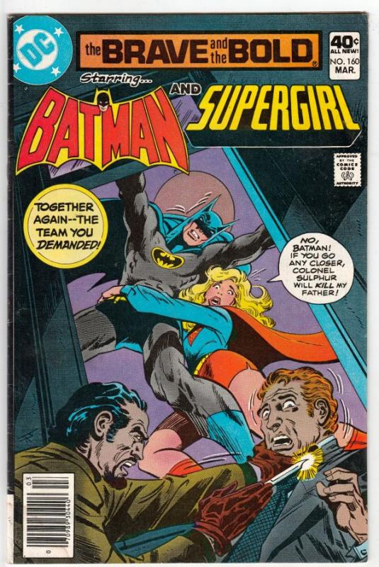 Brave and the Bold, The #160 (Mar-80) FN/VF Mid-High-Grade Batman