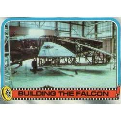 1980 Topps Star Wars The Empire Strikes Back BUILDING THE FALCON #258 EX