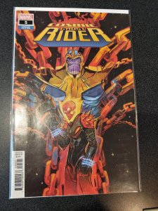 COSMIC GHOST RIDER 5 variant cover Thanos Marvel Comics nm