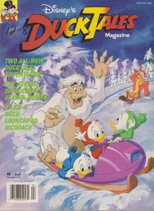 DuckTales Magazine (Disney's…) #6 FN; Welsh | save on shipping - details inside