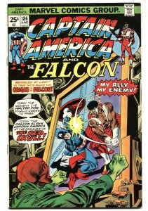 CAPTAIN AMERICA #186 Origin of the FALCON 1974 VF Marvel