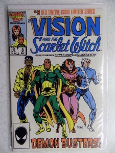 The Vision and the Scarlet Witch #8 (1986)