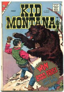 Kid Montana #16 1959- Charlton Western VG+