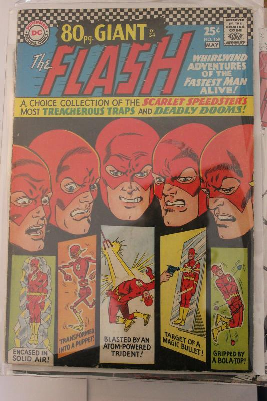 The Flash #169 (DC, 1967) Condition FN/VF