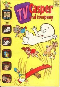 TV CASPER & COMPANY (1963-1974) 8 F-VF June 1965 COMICS BOOK