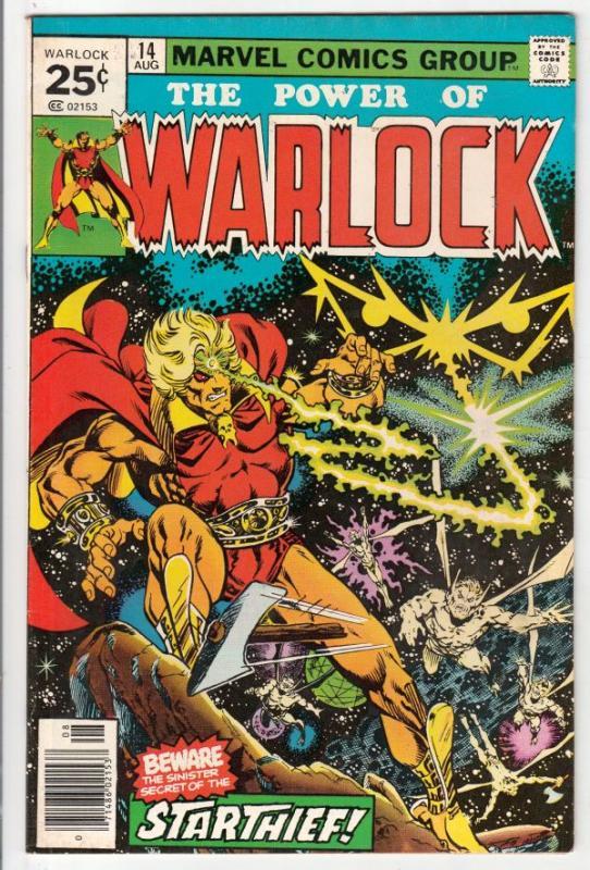 Warlock #14 (Aug-76) VG/FN Mid-Grade Adam Warlock