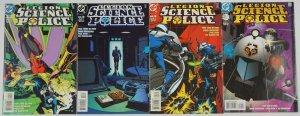 Legion of Super-Heroes: Science Police #1-4 FN complete series - dc comics