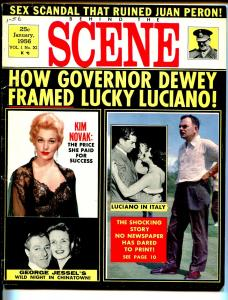Behind The Scene 1/1956-exploitation-Kim Novak-James Cagney-Marilyn Monroe-VG