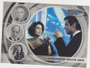 2002 James Bond 40th Anniversary Trading Card #55 Tomorrow Never Dies