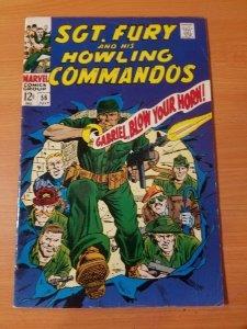 Sgt. Fury #56 ~ FINE - VERY FINE VF ~ (1968, Marvel Comics)