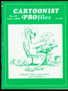CARTOONIST PROFILES #82-1987-JULE FRIFFER FN