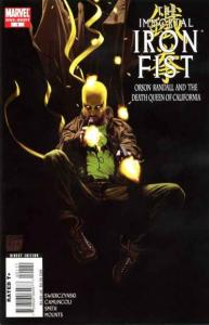 Immortal Iron Fist Orson Randall and the Death Queen of California #1, NM- (S...