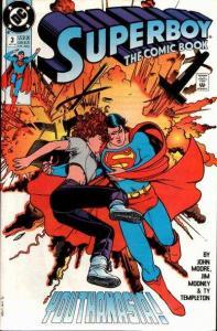 Superboy (1990 series) #3, NM- (Stock photo)