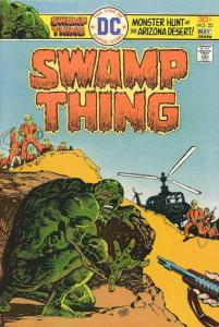 Swamp Thing (1st Series) #22 FN; DC | save on shipping - details inside