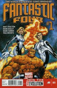 Fantastic Four (4th Series) #1 VF/NM; Marvel | save on shipping - details inside