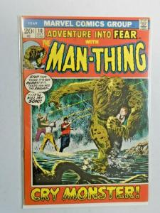 Adventure Into Fear #10 Man-Thing 6.0 FN (1972)