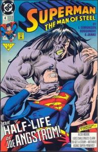 DC SUPERMAN: THE MAN OF STEEL #4 VF