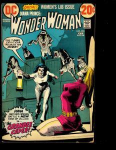 Wonder Woman # 203 FN DC Comic Book Justice League Batman Superman Flash NE3