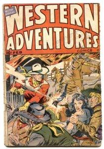Western Adventures Comics #3 1949- reading copy