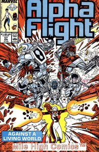 ALPHA FLIGHT (1983 Series)  #57 Very Fine Comics Book