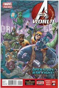 Avengers World #9 Taskmaster NM