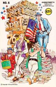 Overstreet Comic Book Price Guide #6, Fine+ (Stock photo)