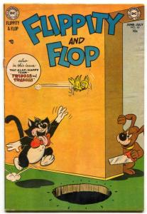 Flippity And Flop #10 1953- DC Funny Animal comic VG